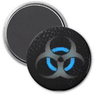 Biohazard Imán Redondo 7 Cm