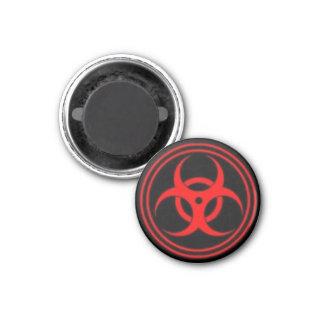 Biohazard Imán Redondo 3 Cm