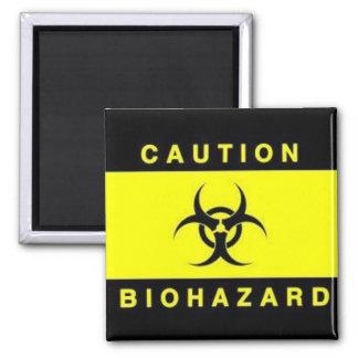 Biohazard Imán Cuadrado