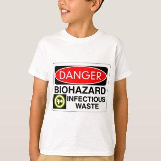 Biohazard Infectious Waste T-Shirt