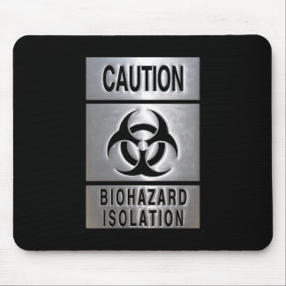 Biohazard Isolation Mouse Pad