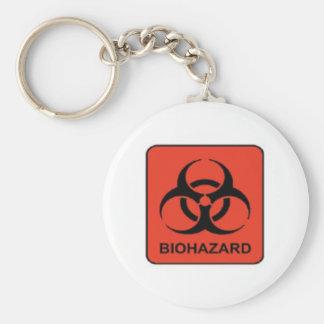 Biohazard_keychain Key Chains