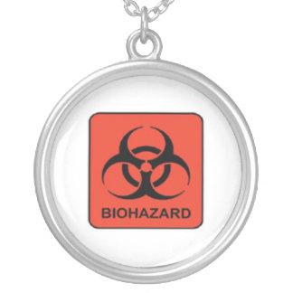 Biohazard Logo Necklace