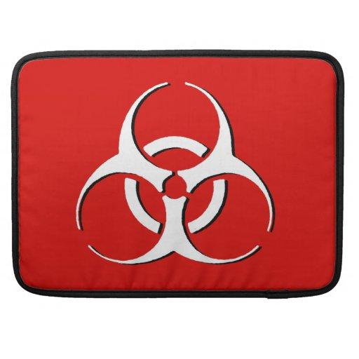 "Biohazard Macbook Sleeve 15""  Classic BoneAshBlood Sleeve For MacBook Pro"