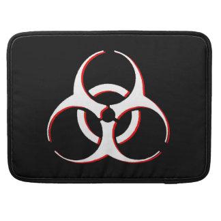 "Biohazard Macbook Sleeve 15""  Classic BoneBloodAsh Sleeves For MacBook Pro"