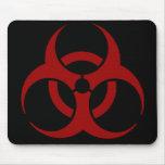 Biohazard Mousepad Alfombrillas De Ratones