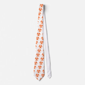 biohazard orange tie