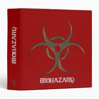 """Biohazard organizer - 1.5"""" Binder"""