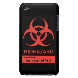BioHazard personalizado que advierte la caja de Funda Para iPod De Case-Mate