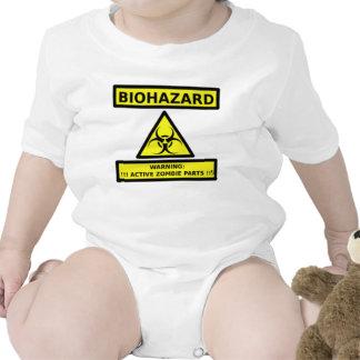 BIOHAZARD - PIEZAS DEL ZOMBI DE WARNING-ACTIVE TRAJE DE BEBÉ