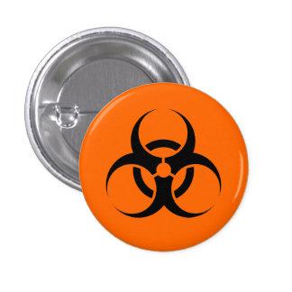 Biohazard Pin Redondo De 1 Pulgada