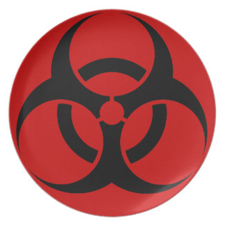 Biohazard Plate