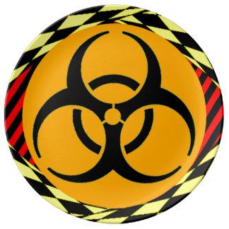 Biohazard Porcelain Plate