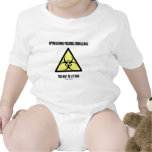 Biohazard posible inminente usted puede ser en trajes de bebé