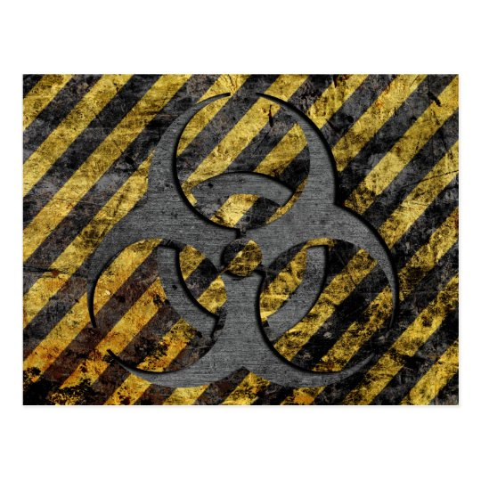 Biohazard Postcard