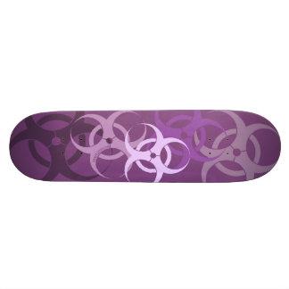 Biohazard (púrpura del mago) patín