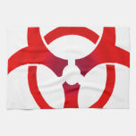 Biohazard - RED Hand Towels