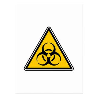 Biohazard Sign Postcard