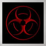 Biohazard sign posters