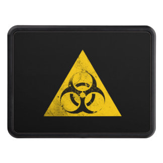 Biohazard Sign Trailer Hitch Covers