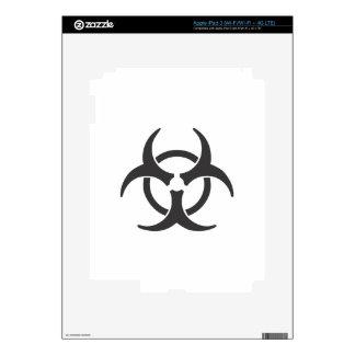 Biohazard Skin For iPad 3