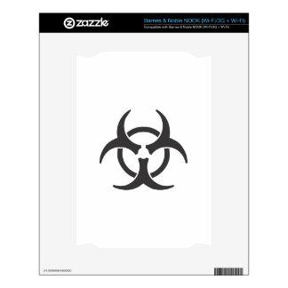 Biohazard Decals For NOOK