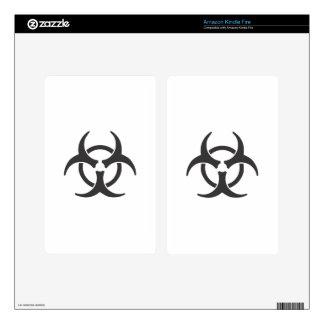 Biohazard Kindle Fire Skin