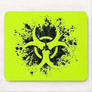 Biohazard -Splat Mouse Pad