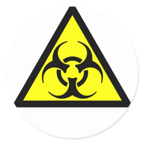 Biohazard zazzle_sticker