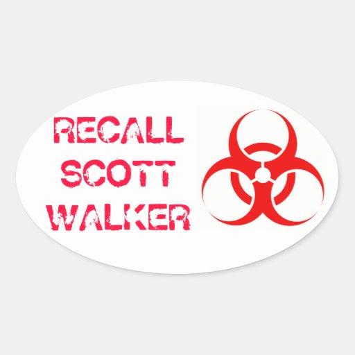 Biohazard Sticker
