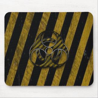 biohazard strips mouse pad
