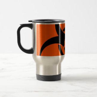 Biohazard Symbol 15 Oz Stainless Steel Travel Mug