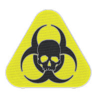Biohazard symbol and Skull Bluetooth Speaker