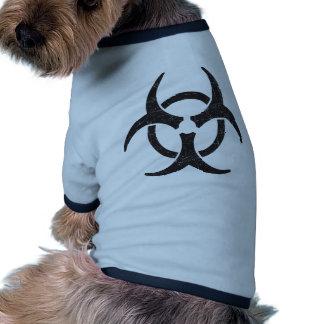 Biohazard Symbol Doggie T-shirt