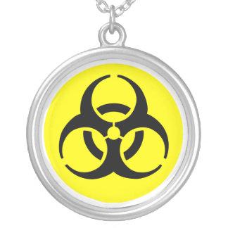 BioHazard Symbol Necklace