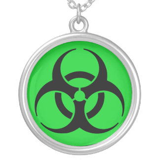 Biohazard Symbol Pendant