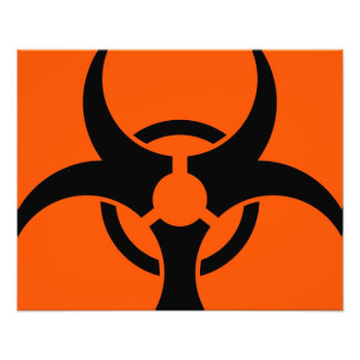 Biohazard Symbol Art Photo