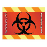 Biohazard Symbol Post Cards