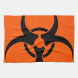 Biohazard Symbol Towel
