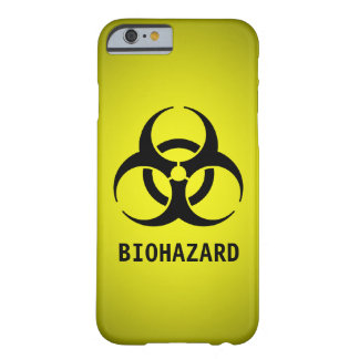 Biohazard Symbol (Yellow) Barely There iPhone 6 Case