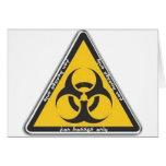 biohazard tarjeta