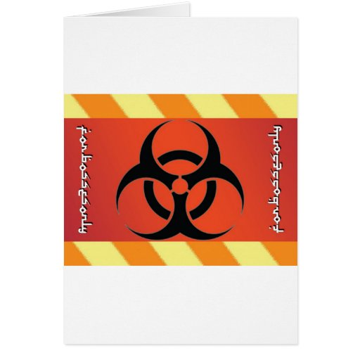 biohazard tarjeton