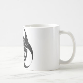 Biohazard Tattoo Skull Coffee Mug