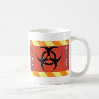 biohazard taza de café