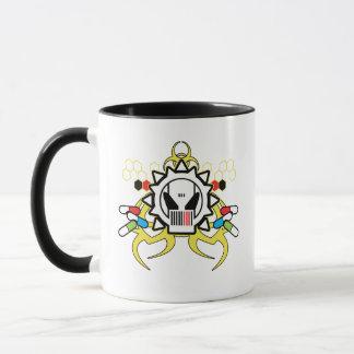 Biohazard Tech Skull Mug