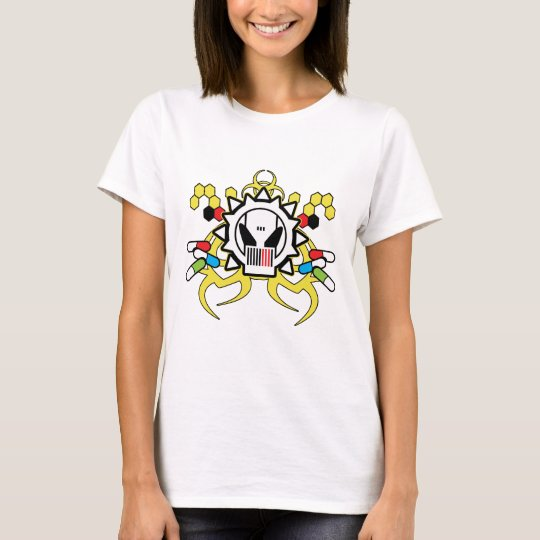 Biohazard Tech Skull T-Shirt