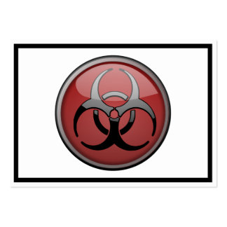 BioHazard Toxic Business Card