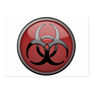 BioHazard Toxic Business Card Template