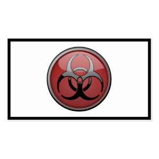 BioHazard Toxic Business Cards