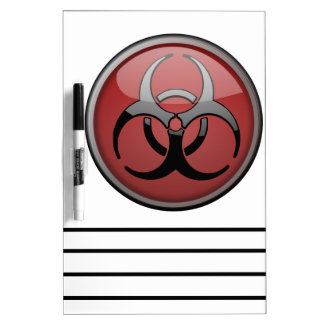 BioHazard Toxic Dry-Erase Boards